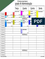 horarios das turmas IFF Itaperuna 09032020
