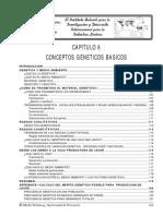 Capitulo 6.CONCEPTOS GENETICOS BASICOS