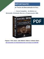 Excel 2016 - Curso Completo - Júlio Battisti