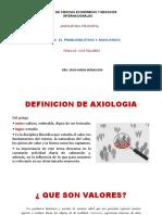 CLASE 9 AXIOLOGIA