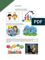 Derechos y Obligaciones del Niño - 2020