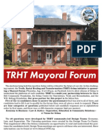 TRHT Selma & Selma Sun Mayoral Questionnaire