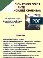 INTERVENCIONES CRUENTAS