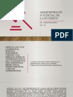 ADMINISTRACION JUDICIAL- CATEDRA PODESTA UBA
