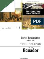 Breves fundamentos sobre los terremotos en el Ecuador