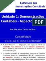 Unidade 1 - Demonstrações Contábeis - Aspectos Gerais