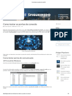 como testar as portas de conexão.pdf