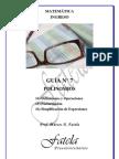 7) Polinomios