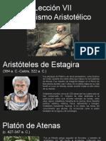 Lección VII  El realismo Aristotélico