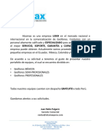 Alcomax Peru - Portafolio de Geónfos Final 2019