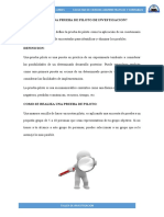 PRUEBA DE PILOTO DE INVESTIGACION