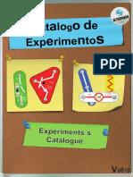CATALOGO DE EXPERIMENTOS ELECTRONICA K-815