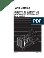 960-0211 Onan DGDA DGFA Series Parts Manual (12-1998)