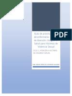CICLO 1 Guía de práctica clínica de enfermería Modelo de Atención Integral en Salud para Víctimas de Violencia Sexual