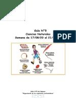 guía N°5 repaso y evaluación ciencias nat 5° básico -