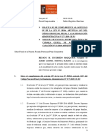 SOBRE EXCLUSION DE CÁMARA GESELL