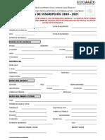 FICHA DE INSCRIPCION (FORMATO) 2020-2021    05082020