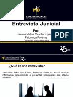 Entrevista Judicial