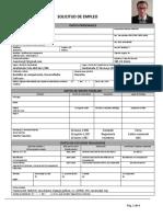 R-DH 2.0.9 Formulario Solicitud de Empleo