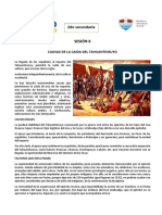 Causas de la caida del Tahuantinsuyo 2do CCSS