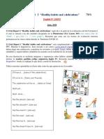 Oral Test I  210525 English IV