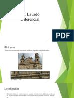 Lavado diferencial en las fachadas