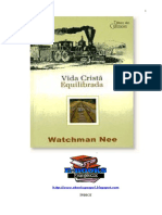 Vida Cristã Equilibrada - Watchman Nee.doc