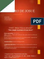 Exposición Josué