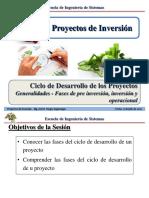 Sesión 2.1 PI - Ciclo de desarrollo de los proyectos
