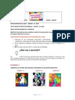 Guía 6- 5° Artístic 3.P periodo. 2020