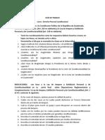 GUÍA DE TRABAJO DERECHO PROCESAL CONSTITUCIONAL SEPTIMO