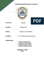 INFORME DE DISTRIBUCION BIDIMENCIONAL DE DOS VARIABLES . ESTADISTICA_2a557da494c0b09b640805c8dc52c729
