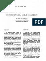 Reduccionismo y la unidad de la ciencia.pdf