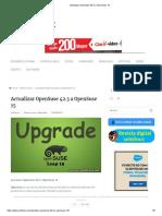 Actualizar OpenSuse 42.3 a OpenSuse 15