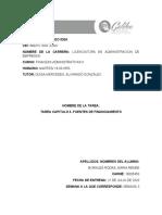 TAREA CAPITULO 3 FINANZAS ADMINISTRATIVAS 2