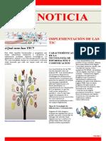 Periódico TATIANA CASTAÑO