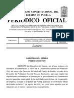 Decreto Gobierno Puebla