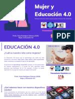 Mujer y Educación 4.0-Profa YEISA RODRIGUEZ 2020