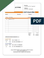 Cotizacion  12-08-2020 - 00