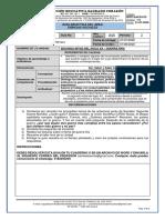 Guía didáctica - Ciencias Sociales # 1 - 9-1 y 9-2 - Segundo Período