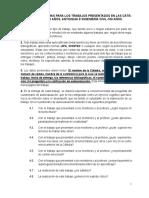 CONDICIONES MÍNIMAS PARA LOS TRABAJOS PRESENTADOS EN LAS CÁTEDRAS (2020).-agosto 7