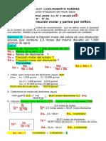 EJERCICIOS  FRACCIÓN MOLAR Y ppm LOPEZ JHON 4to D.pdf