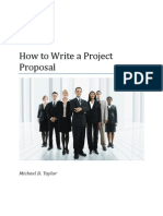 Article-How to Write a Project Proposal