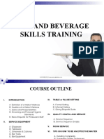 FOOD AND BEVERAGE SKILLS TRAINING.ppt