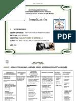 - JORNALIZACION ANALISIS Y DISEÑO I y II