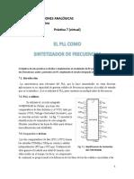 Práctica 7 (virtual) PLL como Sintetizador de Frecuencias