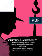 Critical_Assembly A Technical History of Los Alamos During the Oppenheimer Years 1943 1945