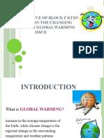 GLOBAL WARMING PRESENTATION