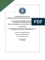 LINEA DE PRODUCCIÓN - ACOPIO, PROCESAMIENTO EN PLANTA, DESCREMADO Y NORMALIZADO