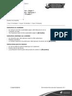 Specimen paper SL